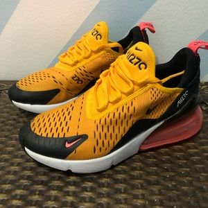 Nike youth 3.5 Air Max 270 GS University Gold